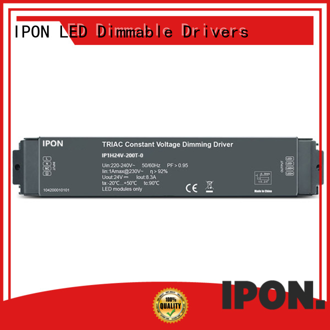 IPON LED dimmable driver factory for Lighting control