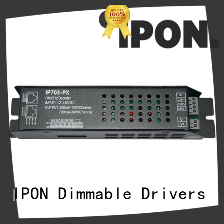 IPON dmx decoder manufacturer for Lighting control system