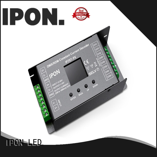 IPON LED DMX Series dmx decoder led in China for Lighting control system