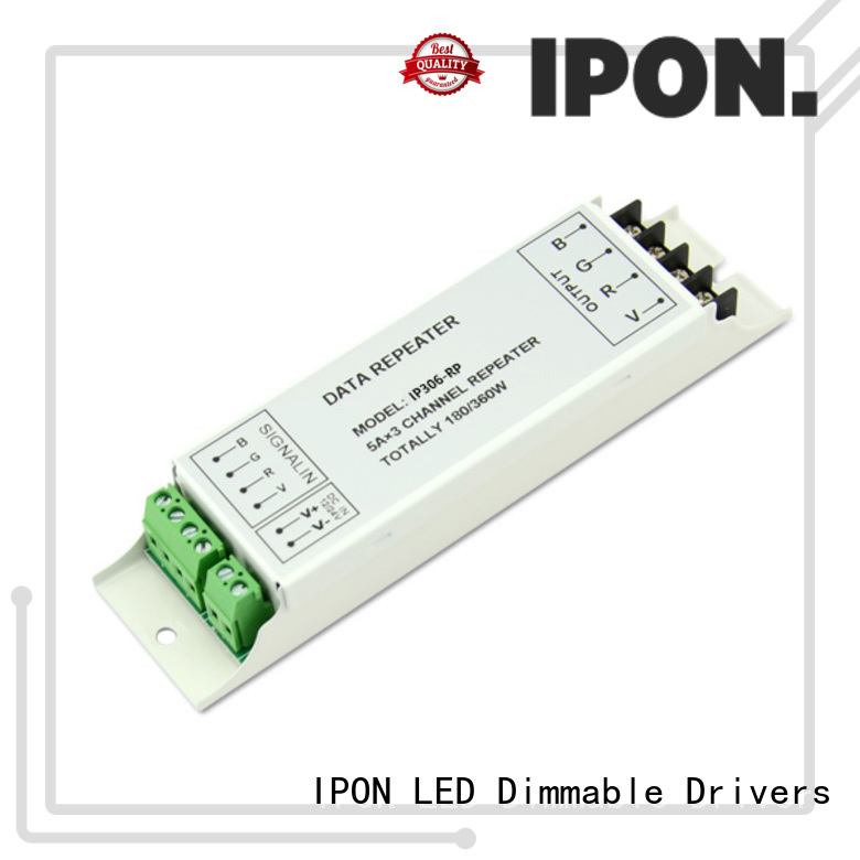 IPON LED professional power amplifier factory for Lighting control