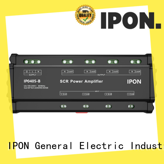 IPON LED Latest power amplifier for sale China for Lighting adjustment