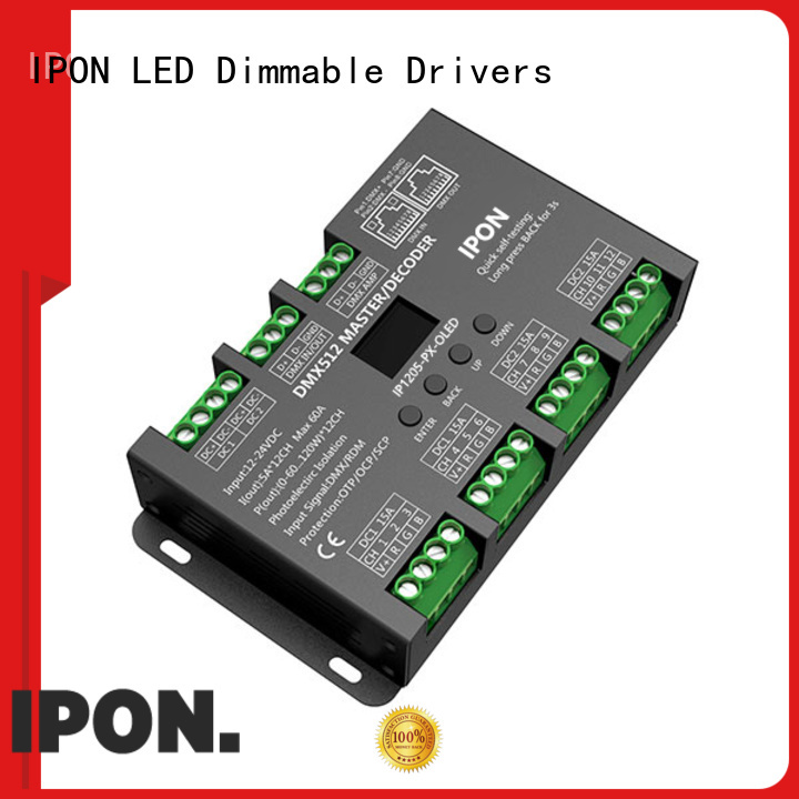 IPON LED DMX dmx driver in China for Lighting adjustment