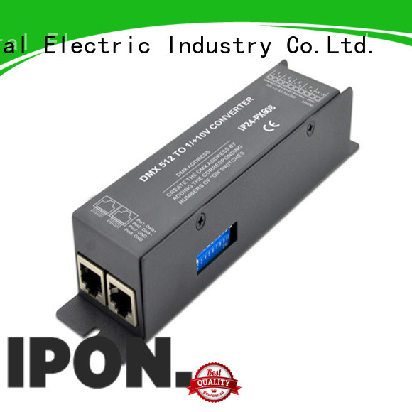 IPON LED analog signal converters China manufacturers for Lighting adjustment