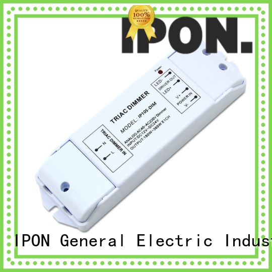 IPON LED led dimmer controller company for Lighting control system