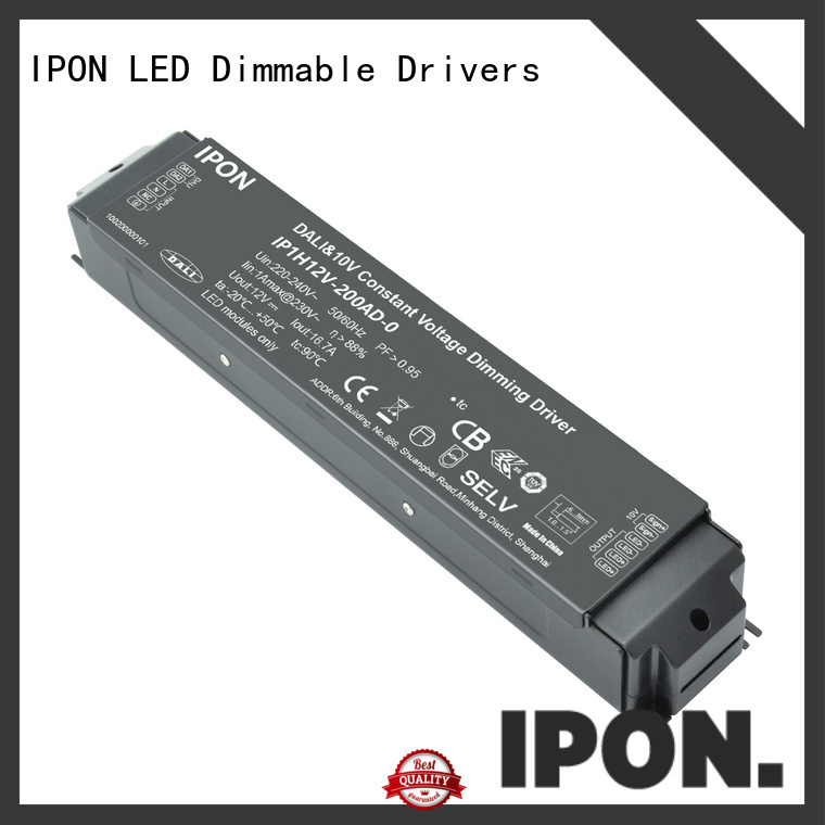 IPON LED dali dimmer 24v factory for Lighting control system