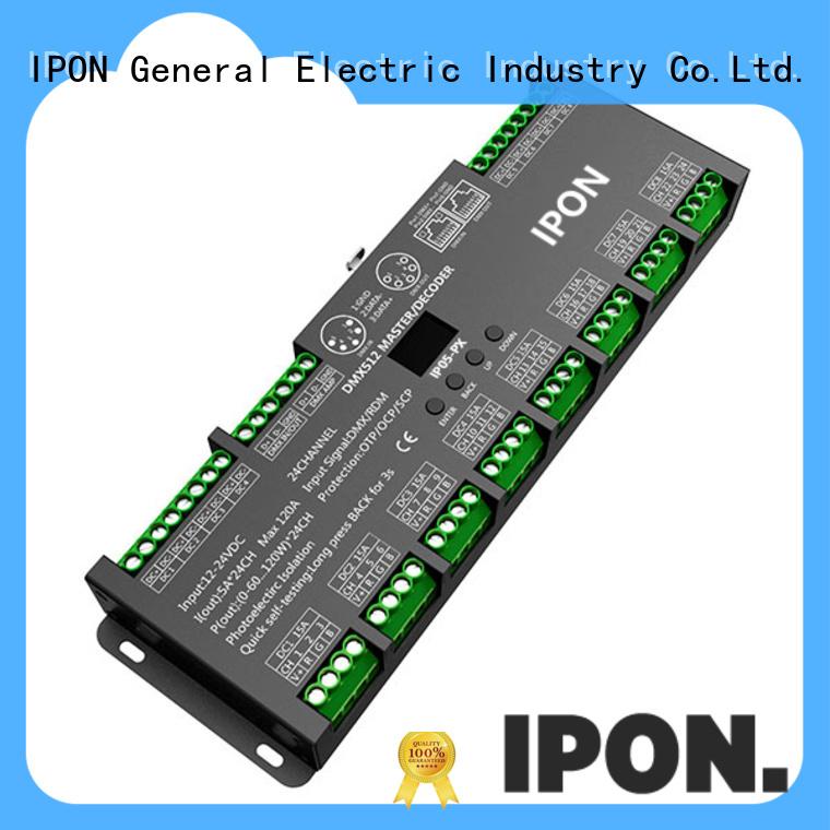 IPON LED dmx driver supplier for Lighting adjustment