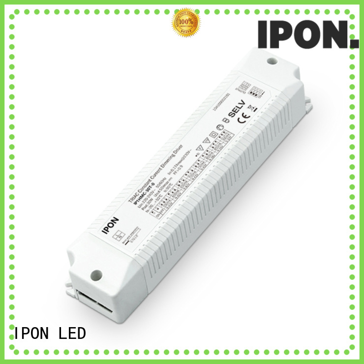 IPON LED dimmable drivers Factory price for Lighting adjustment