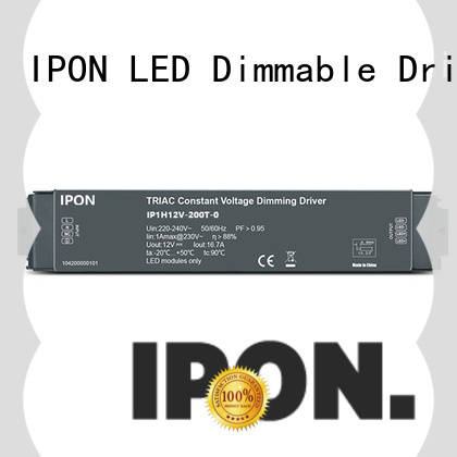 IPON LED durable dimmable driver manufacturer for Lighting control