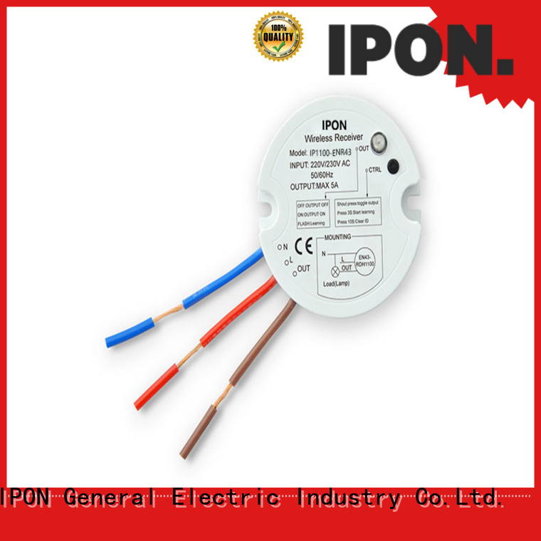 IPON LED switch receiver China for Lighting control