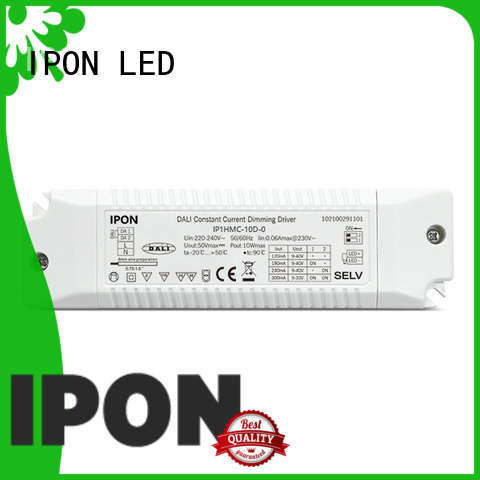 IPON LED DALI Series dali dimmable driver Factory price for Lighting control system