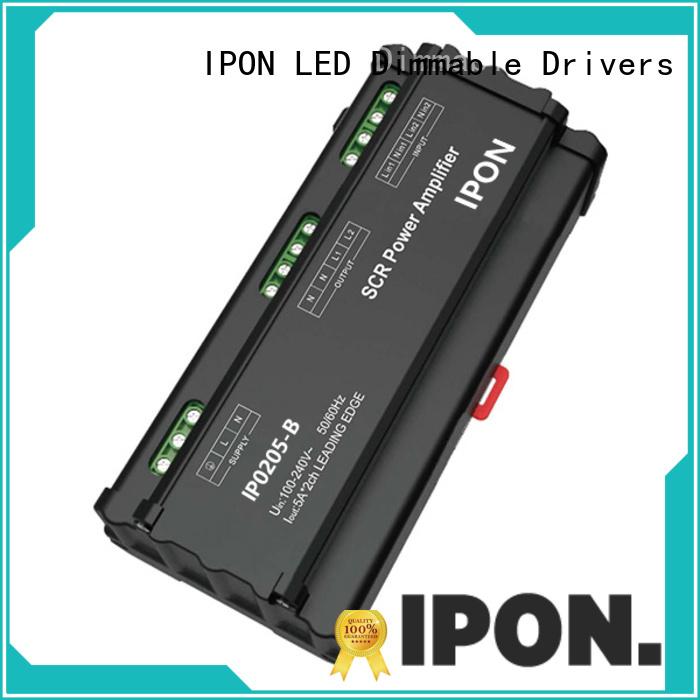 IPON LED high quality power amplifier design manufacturer for Lighting control system