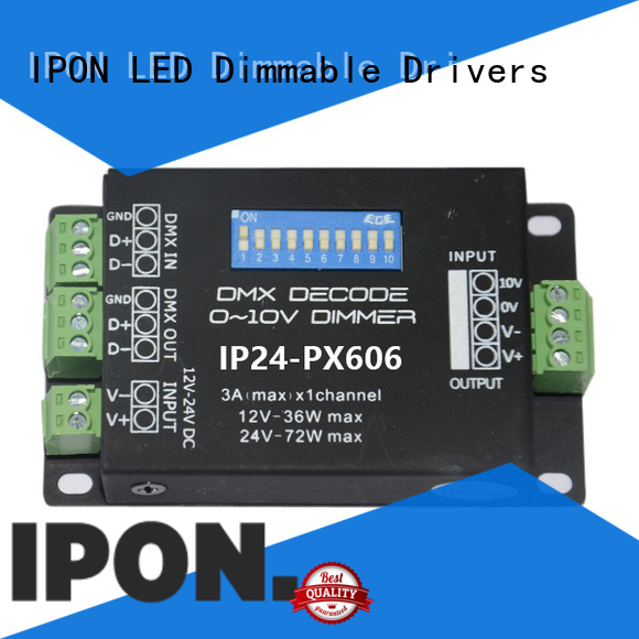 IPON LED High-quality dmx decoder 12 kanalow China suppliers for Lighting control